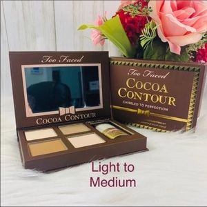 New Too Faced Cocoa Contour Highlighter Kit